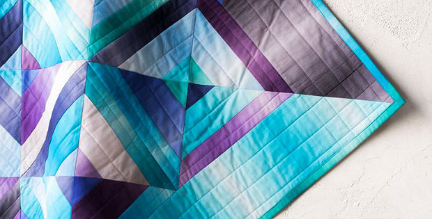 Split Square Jewel Quilt Pattern