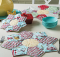 Star Flower Place Mats & Pot Holders