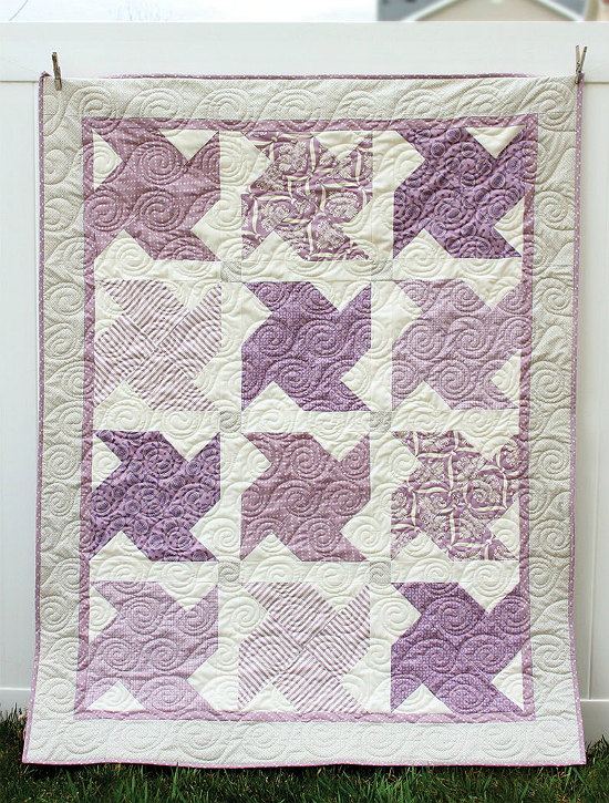 Whirled Quilt Pattern