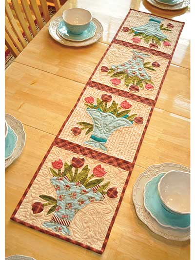 Vintage May Table Runner Pattern