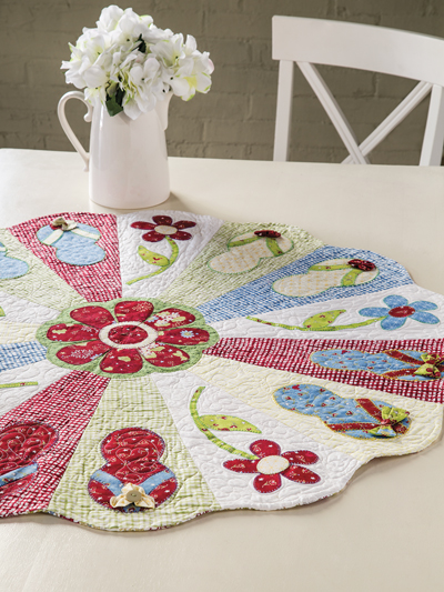 Flip Flop Table Topper Pattern