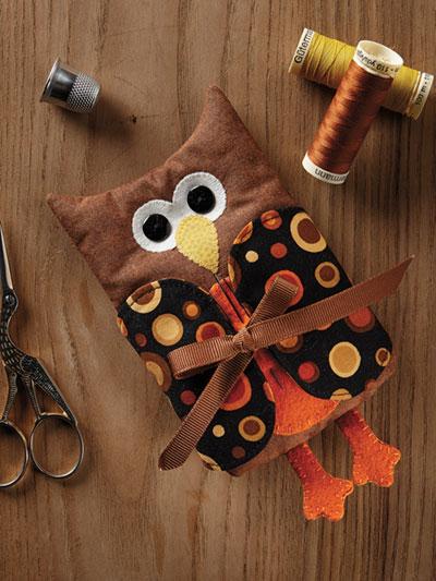 Owl Needle Keeper Pattern