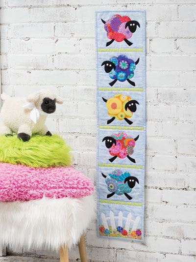 Counting Sheep Wall Quilt Pattern