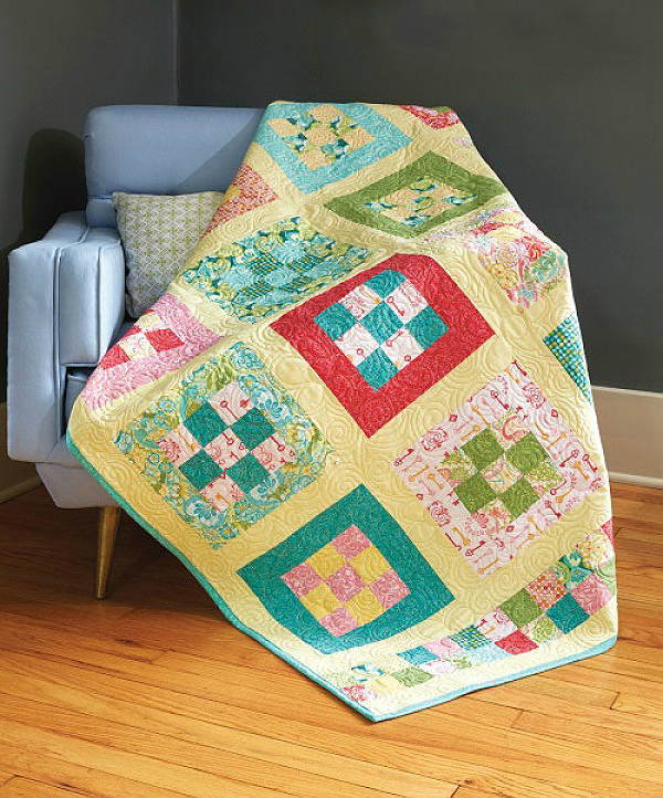 Nine Patch Park Quilt Pattern