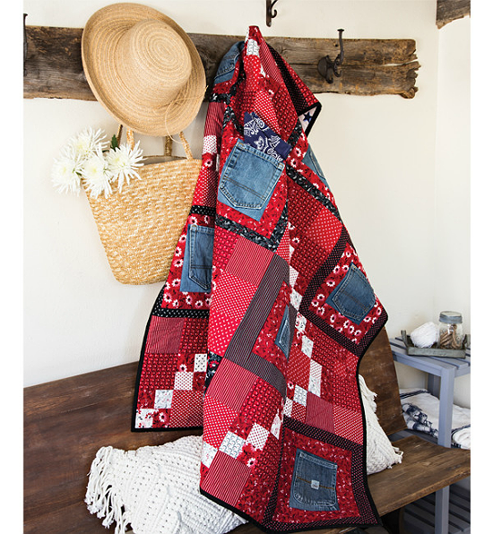 Ten Pockets Quilt Pattern