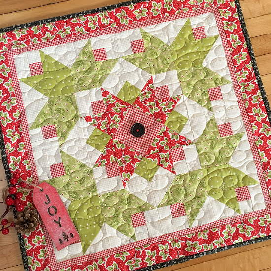 Fat Quarter Flourish Quilt Pattern