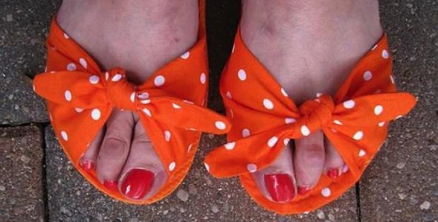 DIY Sandals from Flip-Flops