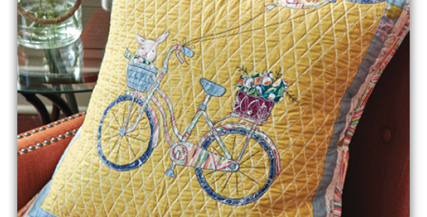 Bicycle Pillow Pattern