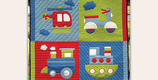 Chug n Tug Quilt Pattern