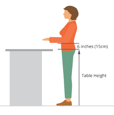 How to Raise Your Cutting Table to Reduce Back Strain