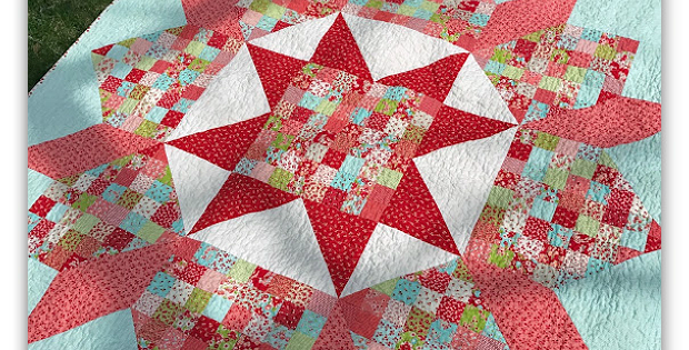 Patchwork Swoon Quilt Pattern