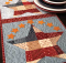 Patriotic Patchwork Table Runner Pattern