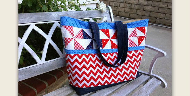 Patriotic Tote Bag Tutorial
