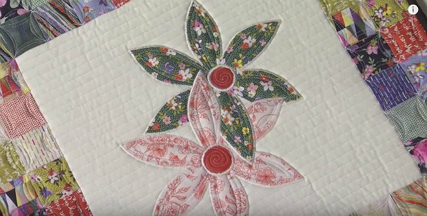 How to reduce stiffness in fusible applique quilting digest