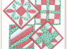 Create a Lovely Set of Coasters to Use or to Give