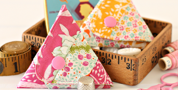 Triangle Sewing Kit Pattern
