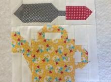 Garden Thyme Quilt Block Pattern
