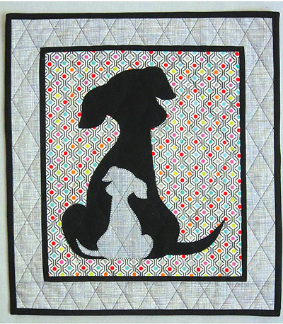 Sidekick Puppy Dog Quilt Pattern