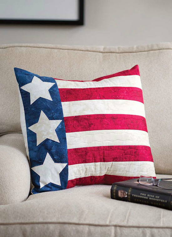 Patriotic Pillow Pattern