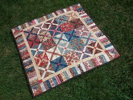 Hot Cross Quilt Pattern
