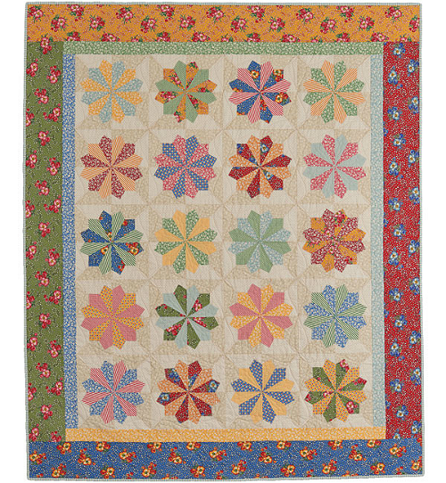 Plates & Wheels Quilt Pattern
