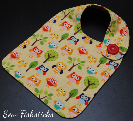 Bibs for Infants Through Adults Are Quick to Make