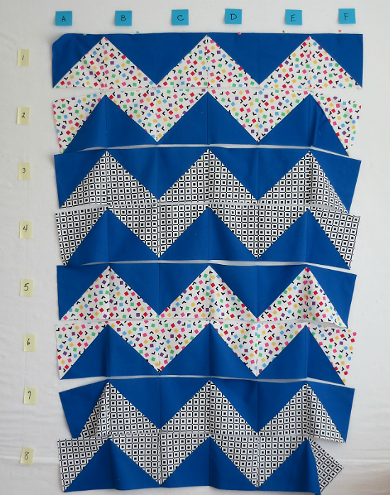 How to Chain Piece Quilt Blocks