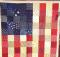 American Flag Quilt Tutorial