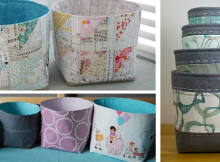 Nesting Fabric Baskets Pattern