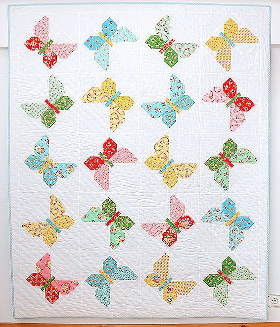 Butterfly Dance Quilt Pattern
