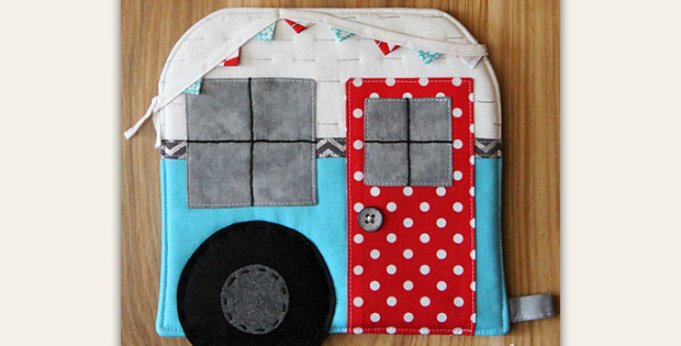 Vintage Camper Hot Pad Tutorial