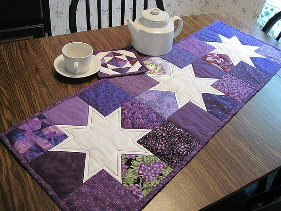 Charming Stars Table Runner