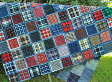 Denim Picnic Blanket Pattern