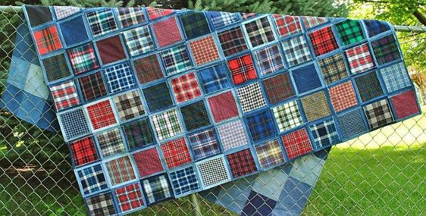 Denim Picnic Blanket Pattern