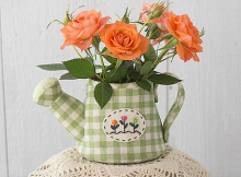 Fabric Watering Can Pattern