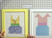 How to Frame a Quilt Block