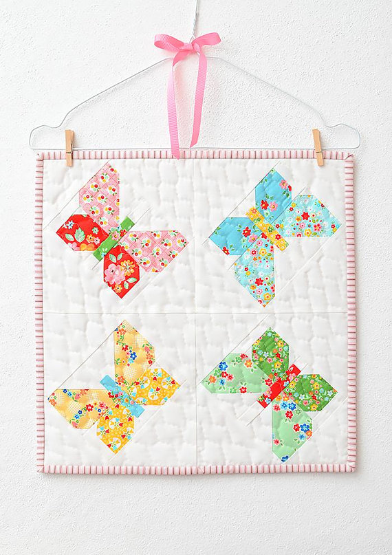 Butterfly Dance Mini Quilt Pattern