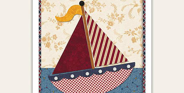 July Wall Hanging Pattern