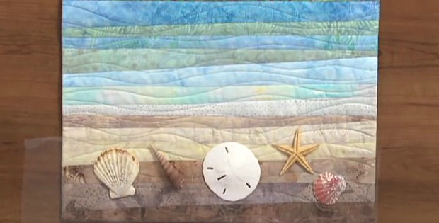 Make a Beautiful Landscape Quilt from Strips