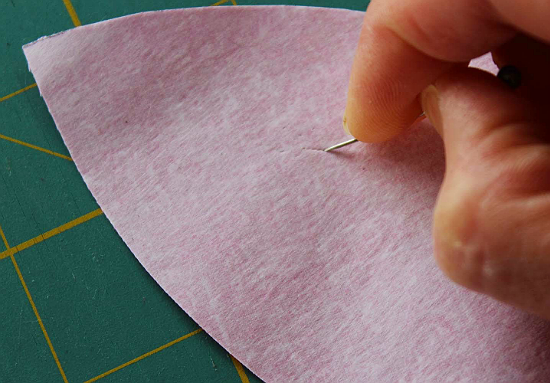 Easily Remove Paper from Fusible Web with This Tip