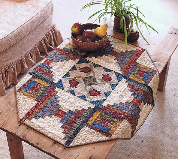 Scrap Basket Garden Quilt Pattern