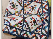 Scrappy Triangles Quilt Pattern