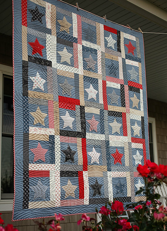 Stars of Glory Quilt Pattern