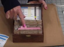 Make a Storage Box for Sewing Machine Needles