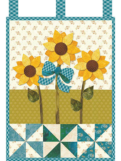June Little Blessings Wall Hanging Pattern