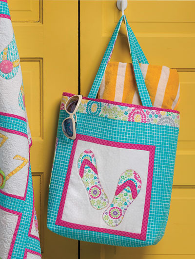Ready for the Beach Tote Bag Pattern