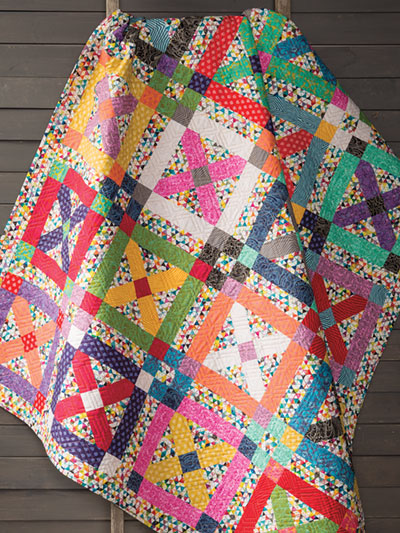 Magic Kisses Quilt Pattern