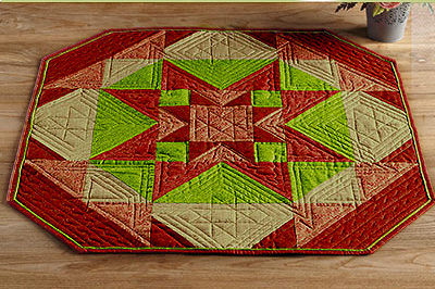 Rising Star Table Topper Pattern