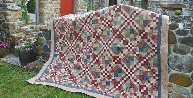 1862 Battle Hymn Quilt Pattern