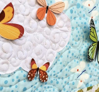 Easy 3D Applique from Any Fabric